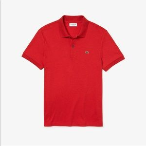 Men's regular fit Lacoste short sleeved polo💕